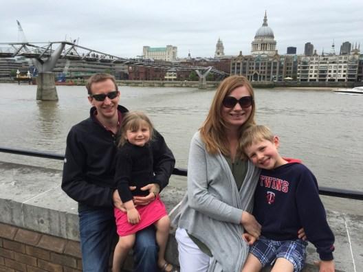 Stephanie Francis-Jones and family