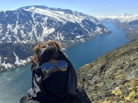 After my academic semester ended, I took advantage of the time I had before work began in the summer to travel. I decided to do a solo backpacking trip through Europe and I spent lots of time hiking the Fjords of Norway.
