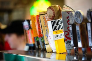 A tap for Bauhaus Brew Labs at the Minnesota State Fair on August 22, 2019 in St. Paul.