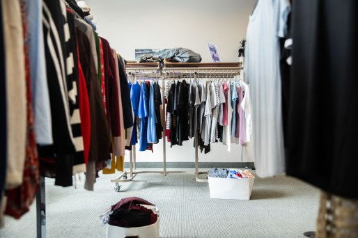 Tommie's Closet in the Anderson Student Center. Mark Brown/University of St. Thomas