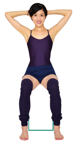 骨盤歪みエクササイズ~脇腹を絞ってくびれを作る