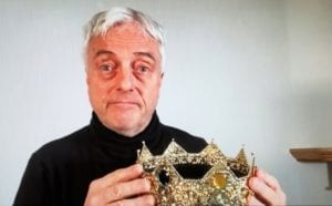 Richard II actor in Production of Shakespeare Bits & Pieces