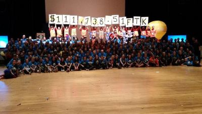 money raised at dance marathon