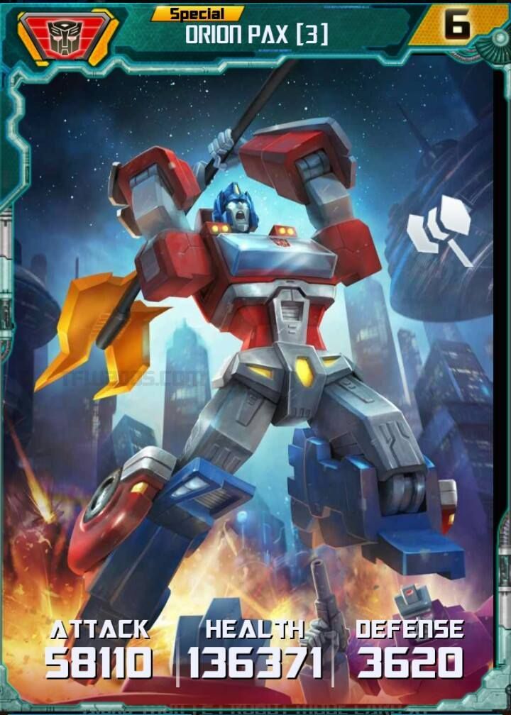 Transformers Legends Game Event Orions Gambit