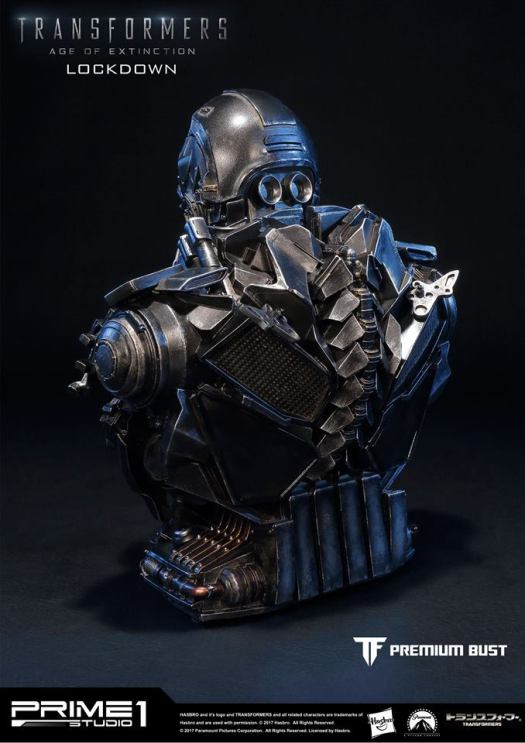 Prime 1 Studio Age of Extinction Lockdown bust ...