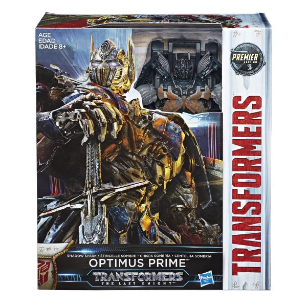 Shadow Spark Optimus and Masterpiece Movie Bumblebee ...