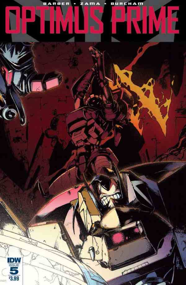 Optimus Prime #5 preview - Transformers News - TFW2005