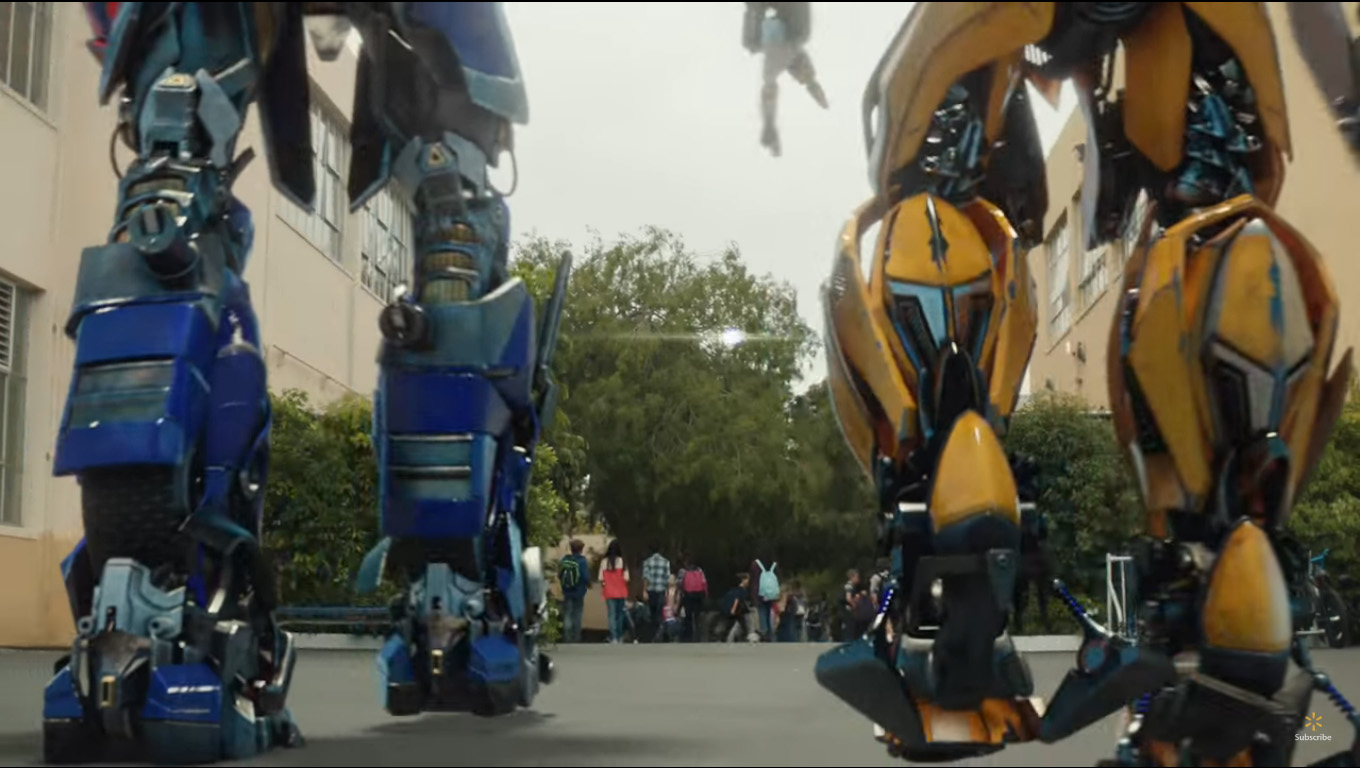 Image result for bumblebee optimus prime