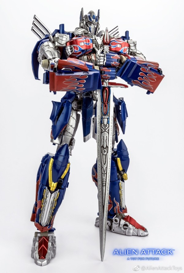 Alien Attack A-01 El Cid – AOE/TLK Optimus Prime New ...