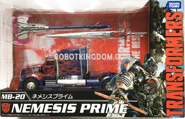 Takara Movie The Best MB-16 Jetfire, MB-17 Optimus Prime ...