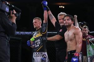 Dan Moret defeated Jose Pacheco at RFA 8
