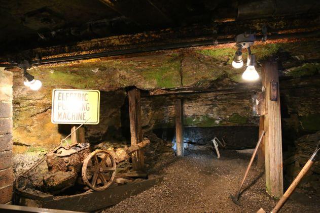 Exhibition Mining Equiptment