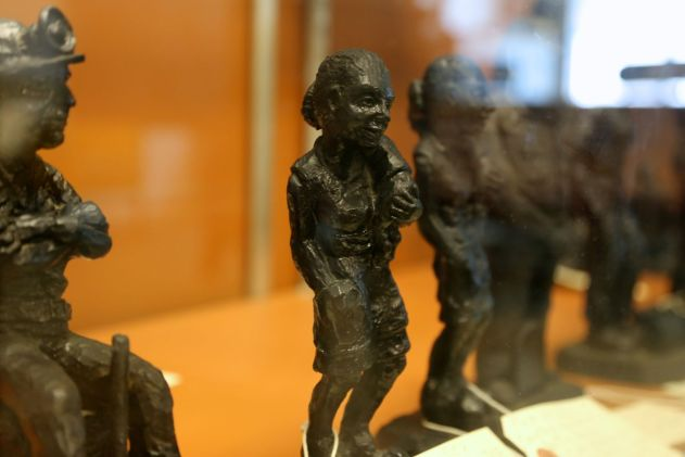 Coal sculptures
