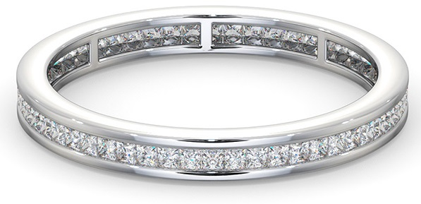 Meaning of Eternity Rings - diamond eternity ring