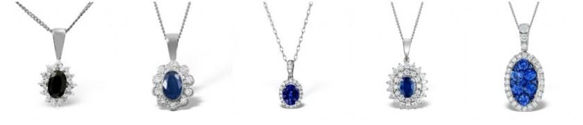 Kate Middleton's sapphire jewellery