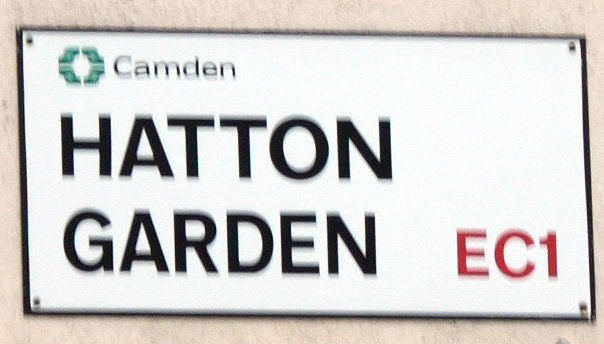 Hatton Garden Street Sign