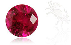 BIRTHSTONE JULY – RUBY