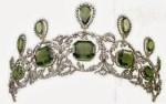 Archduchess Isabellas peridot tiara