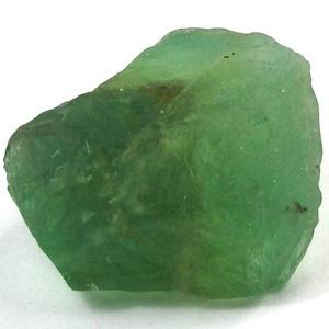 Rough green sapphire courtesy of GIA.com