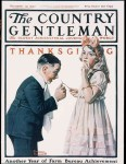 The country gentleman cover picture of wishbone pulling