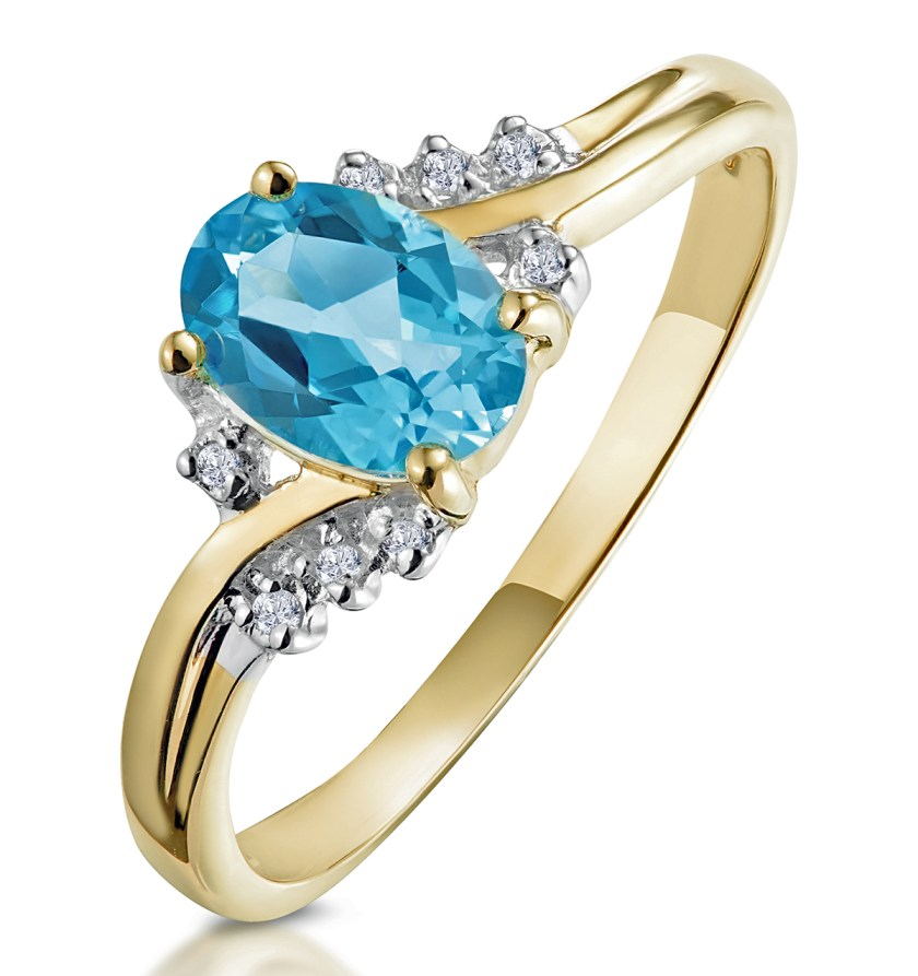 Blue Topaz - Meaning of Gem Colour in Engagement Rings