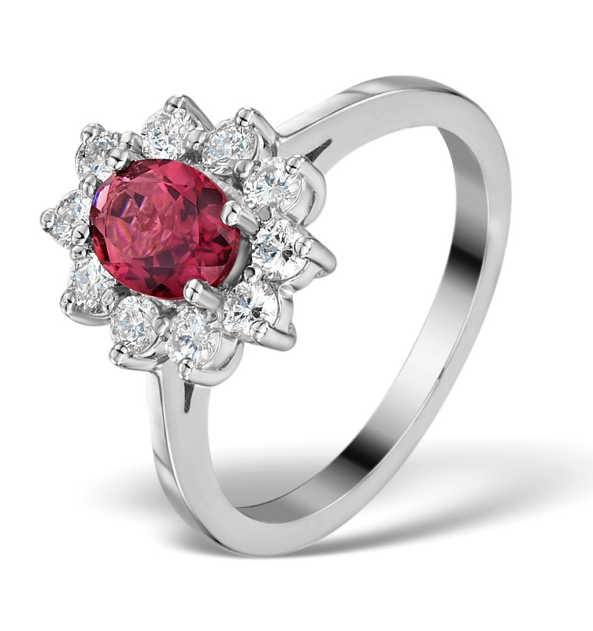 Pink Tourmaline - Meaning of Gem Colour in Engagement Rings