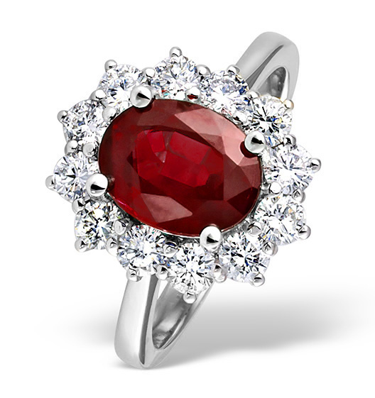 Ruby - Meaning of Gem Colour in Engagement Rings