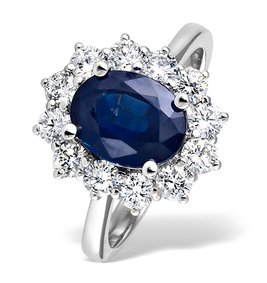 Blue Sapphire - Meaning of Gem Colour in Engagement Rings