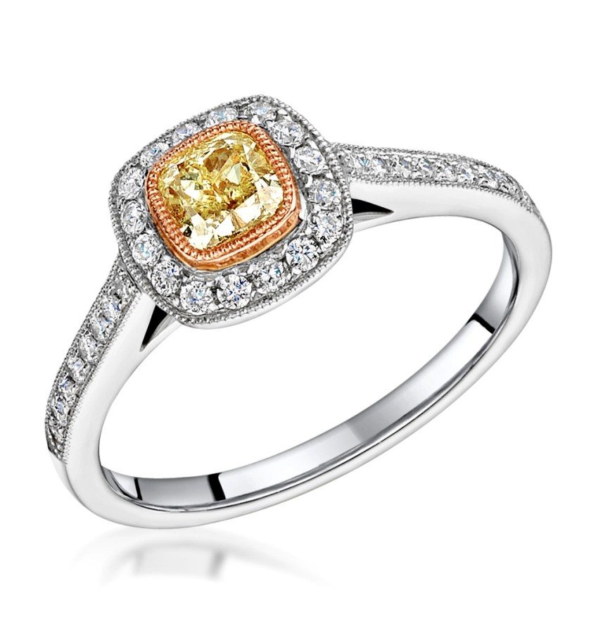 Yellow Diamonds - Meaning of Gem Colour in Engagement Rings
