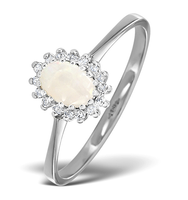 White Opal - Meaning of Gem Colour in Engagement Rings