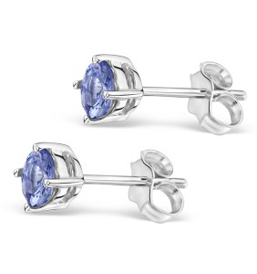 Tanzanite stud earrings - click to view
