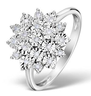 Diamond Cluster Ring £309