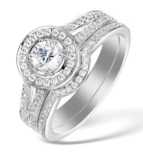 View our Matching Engagement & Wedding Ring Sets