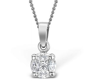 A diamond necklace is the ideal Christmas gift