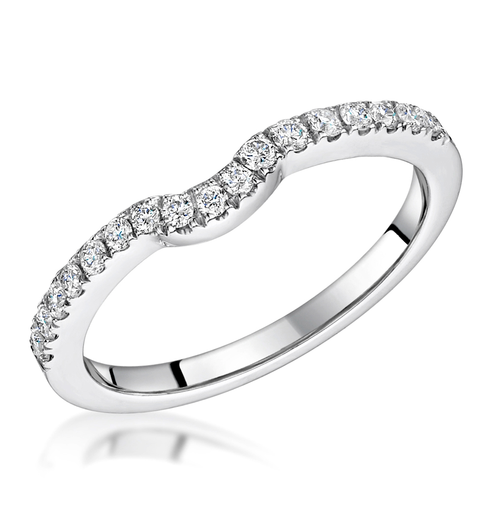 Carly Engagement Ring. Carly Wedding Band