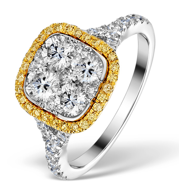 08a Enagement ring Iggy Azalea or Scarlett Byrne style yellow diamond