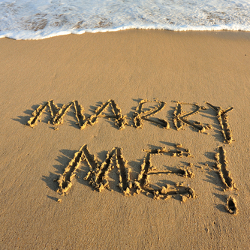 written in the sand proposal