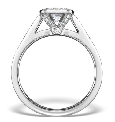 White gold diamond engagement rings from TheDiamondStore UK