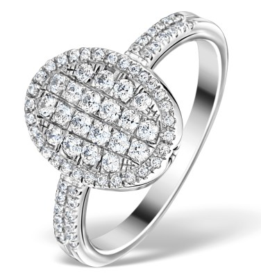 Beautiful big 0-80 carat diamond engagement ring at only around 1000 pounds UK from TheDiamondStore