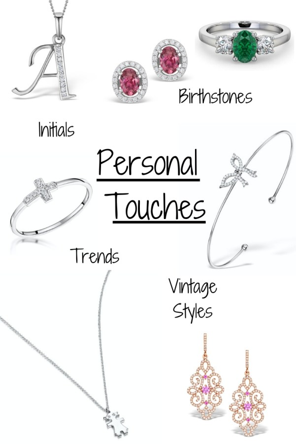 How to build a jewellery Collection - adding personal touches