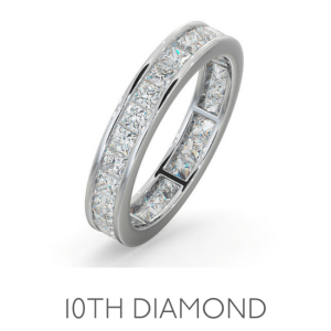 10th Anniversary Diamond - Wedding Anniversary Gemstone Jewellery