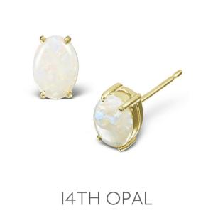 14th Anniversary Opal – Wedding Anniversary Gemstone Jewellery