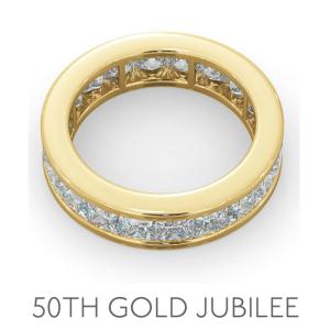 50th Anniversary Gold Jubilee - Wedding Anniversary Gemstone Jewellery