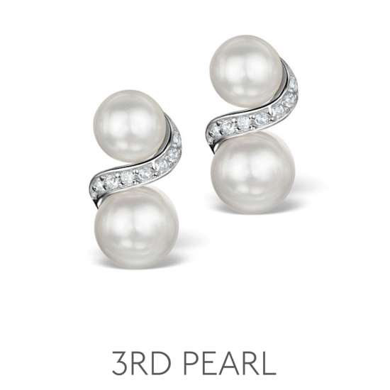 3rd Anniversary Gem Pearl - Wedding Anniversary Gemstone Jewellery
