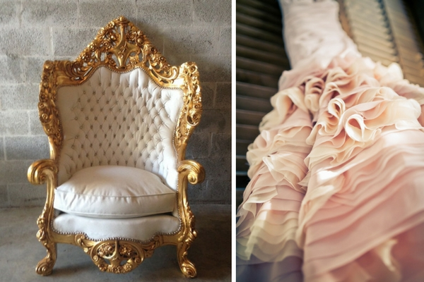 How to Create a Luxe Bridal Look - details and style