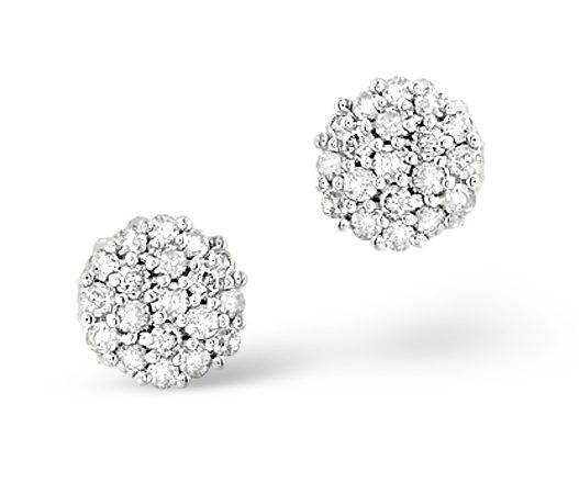 Best earrings - diamond clusters