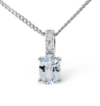 best necklaces aquamarine