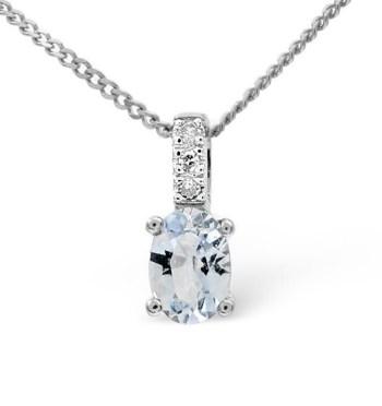 best necklaces aquamarine