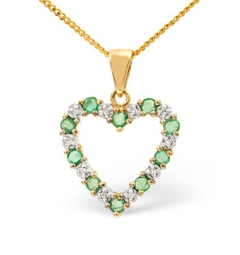 best necklaces emerald diamond yellow gold