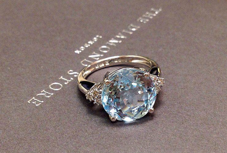 Winter Jewellery Inspiration 2016 - blue topaz rings